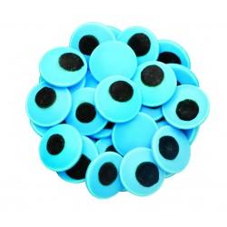 Mavi Büyük Göz Draje Süsleme Şekeri
