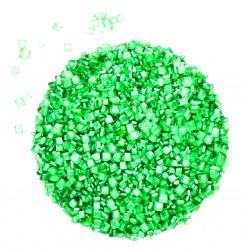 Yeşil Sanding Parlak Süsleme Şekeri