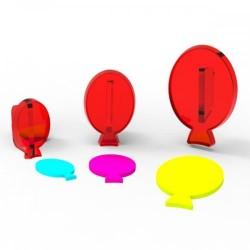 Balon Kesici & Transfer Şeker Hamuru Baskı Seti