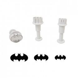 Batman Yarasa Figürlü 3'lü Küçük Boy Enjektör Seti