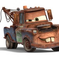 Cars 2 Tow Mater Yenilebilir Pasta Resim Baskısı