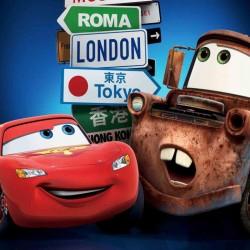 Cars London Yenilebilir Pasta Resim Baskısı