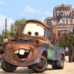 Cars Tow Mater Yenilebilir Pasta Resim Baskısı
