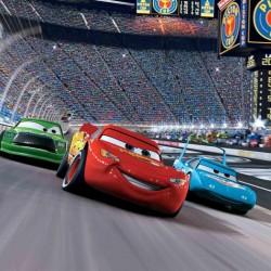 Cars Yarış Yenilebilir Pasta Resim Baskısı