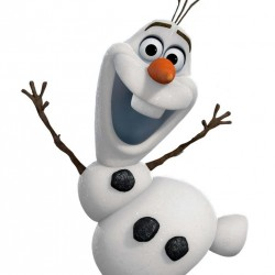 Frozen Olaf Yenilebilir Pasta Resim Baskısı