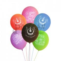 İyi Ki Doğdun Baskılı 6'lı Balon