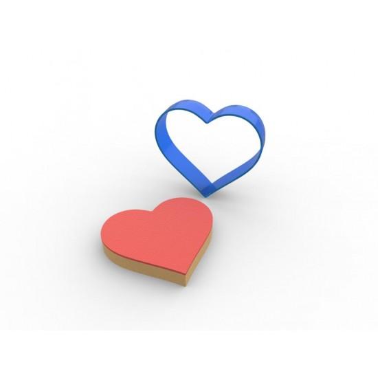 Kalp PC Şeker Hamuru ve Kurabiye Kalıbı