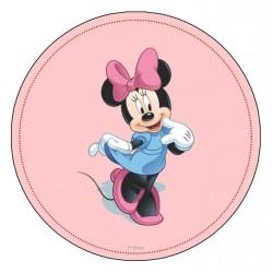 Minnie Mouse 2 Yuvarlak Yenilebilir Pasta Resim Baskısı