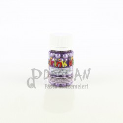 Mor Büyük Boy Draje Süsleme Şekeri 8mm
