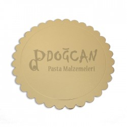 Pasta Altlığı Altın Gold 28 cm