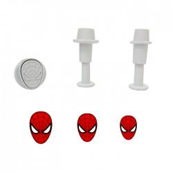 Spider Man Örümcek Adam Figürlü 3'lü Enjektör Seti