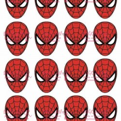 Spider Man Yenilebilir Kurabiye Resim Baskısı