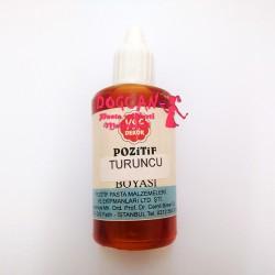 Turuncu Sabun ve Kokulu Taş Boyası Sıvı 50 gr