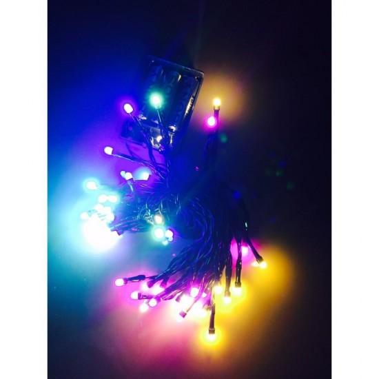 Yılbaşı Ağacı Işığı Çok Fonksiyonlu Led Karışık Renk