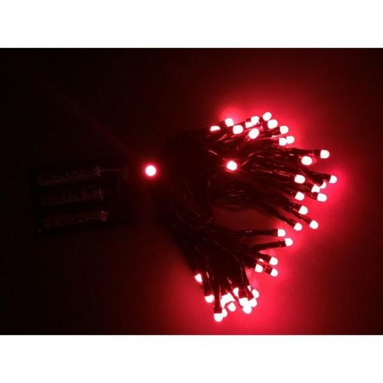Yılbaşı Ağacı Işığı Çok Fonksiyonlu Led Kırmızı