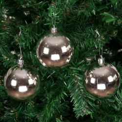 Yılbaşı Çam Ağacı Süsü Gümüş Cici Toplar 7 cm